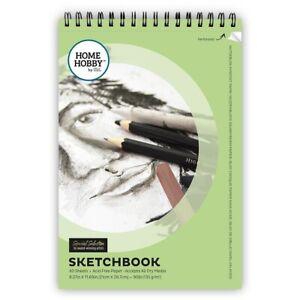 HomeHobby-High-Quality-Sketchbook-A4-135-g-m2-40-Acid-Free-Sheets