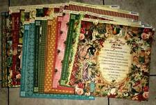 Graphic 45 The Twelve Days of Christmas12 x 12 Papers 24 Sheets- PLUS