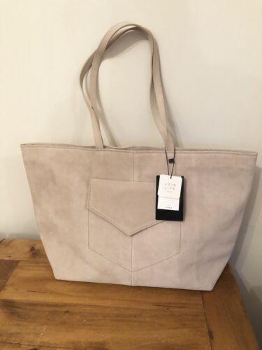 main Zara en ᄄᄂ avec Grand sac daim poches Bnwt beige zMqpLGUSV