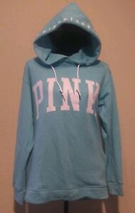 05a84c3360f19 Image is loading Victoria-039-s-Secret-Pink-Hoodie-Campus-Crossover-