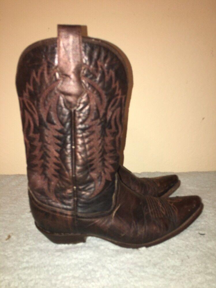 Corral Damens's Cowboy Cowboy Damens's Western Braun Leder Stiefel Größe 8 M b3a4da