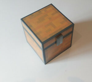 Minecraft-inspired-chest-unofficial-handmade