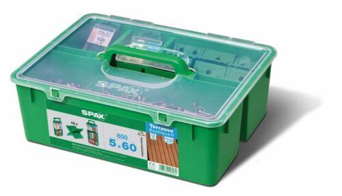 SPAX GREEN Box Terrasse 5 x 60 Profiset Terrasse für 25-28m²