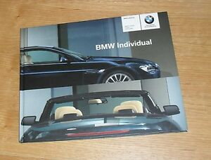 BMW-6-Series-Coupe-amp-Convertible-Individual-Hardback-Brochure-2004
