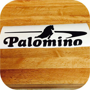 Decal For Palomino Pop Up Camper Trailer Sticker Black