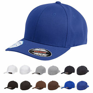 0dd2db654 Image is loading FLEXFIT-Mens-Pro-formance-Fitted-Structured-Cap-Blank-