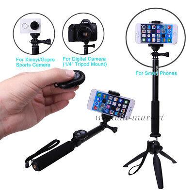 Sony Xperia XZ Mini Selfie Stick Mobile Phone Monopod Built-in Remote Shutter Aventus Adjustable Smartphone Adapter Black