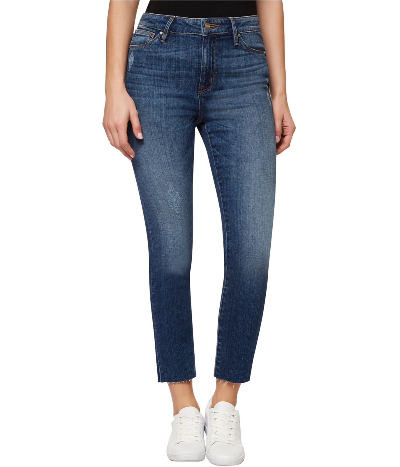 Sanctuary Clothing Womens Ankle-Length Straight Leg Jeans amberwash 24x26