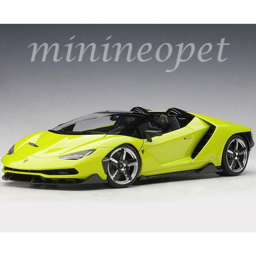 AUTOART 79118 Lamborghini  Centenario Roadster 1 18 Voiture Modèle Solid Vert Clair  boutique en ligne