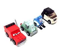 Disney Pixar LEGO toys CARS Movie vehicle mini figure lot set of 4