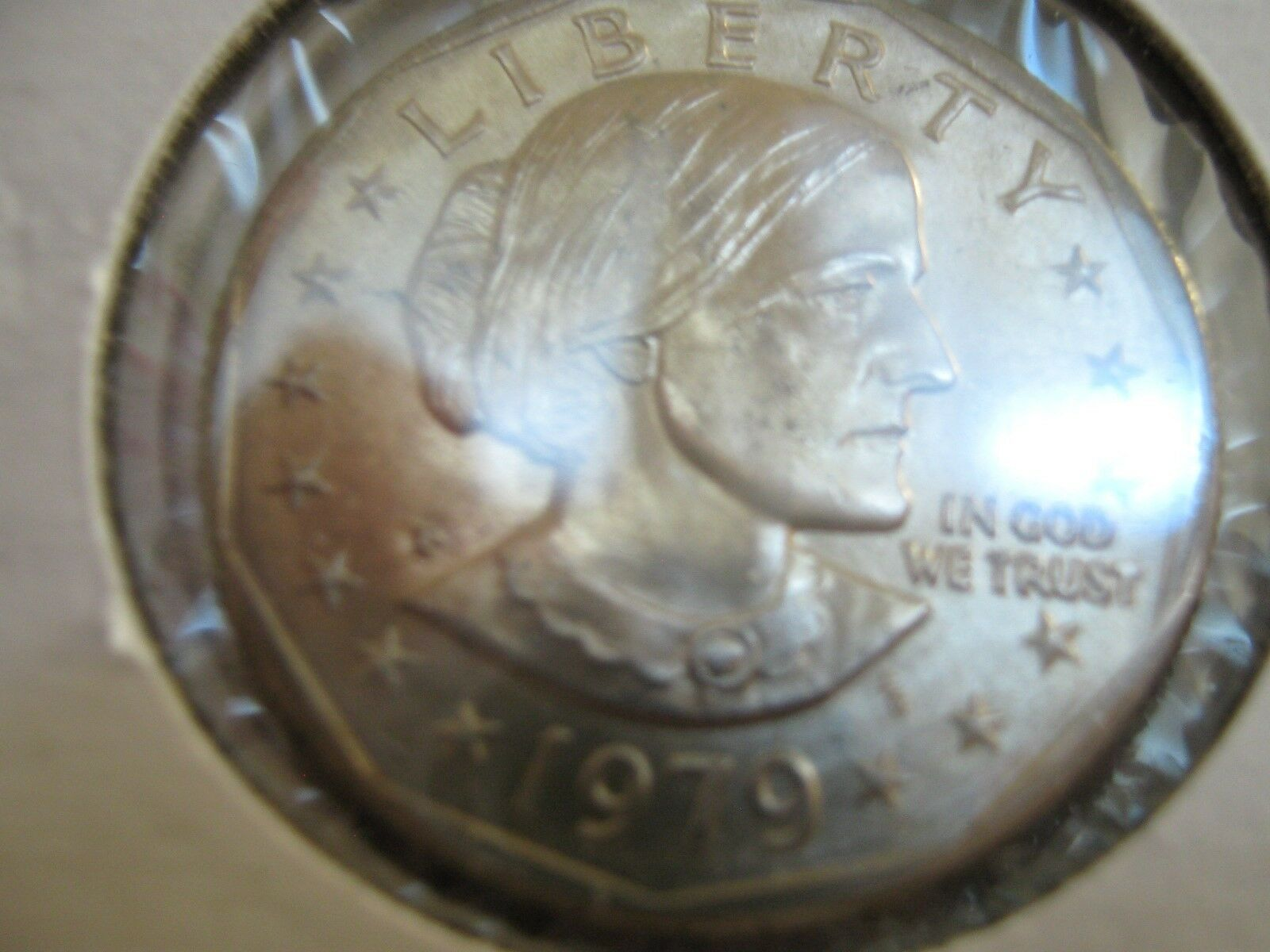 1979 Susan B. Anthony Dollars , Lot of 15 Coins , AU /