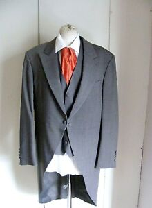 Grey-Wilvorst-morning-coat-tailcoat-wedding-formal-wear-Royal-Ascot-COAT-ONLY