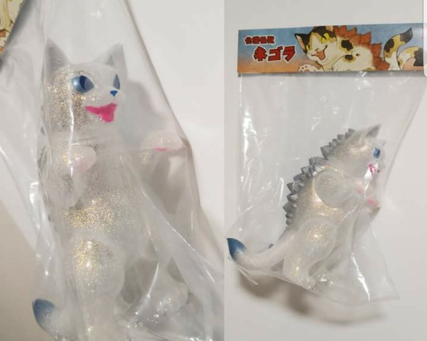 SALE Konatsu King Negora Diamond Dust Glitter Aurora Vinyl Figure Konatsuya