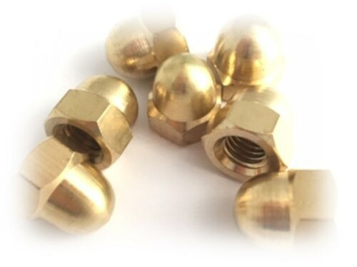 3mm M3 Brass Dome Nut//Cap Nut DIN 1587