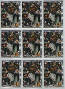 Details About 2019 Bowman Baseball 67 Dj Stewart Rc Base Lot Of 25 Cards Orioles