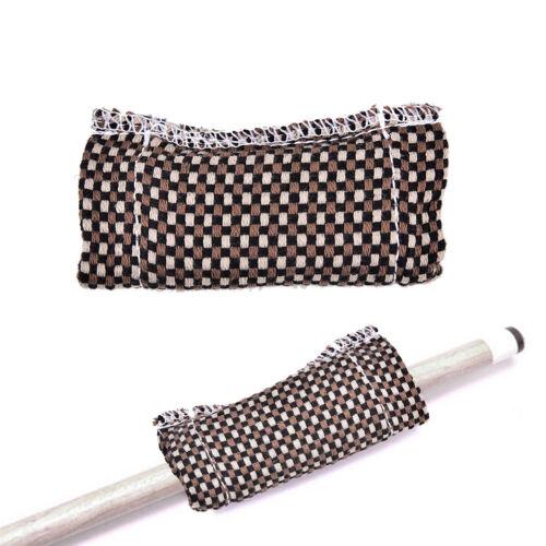 Snooker Billiard Pool Table Cue Stick Care Shaft Slicker Clean Cloth Cleaner HI