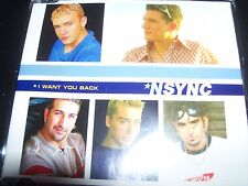 Nsync (Justin Timberlake) I Want You Back Australian CD Single - Like New