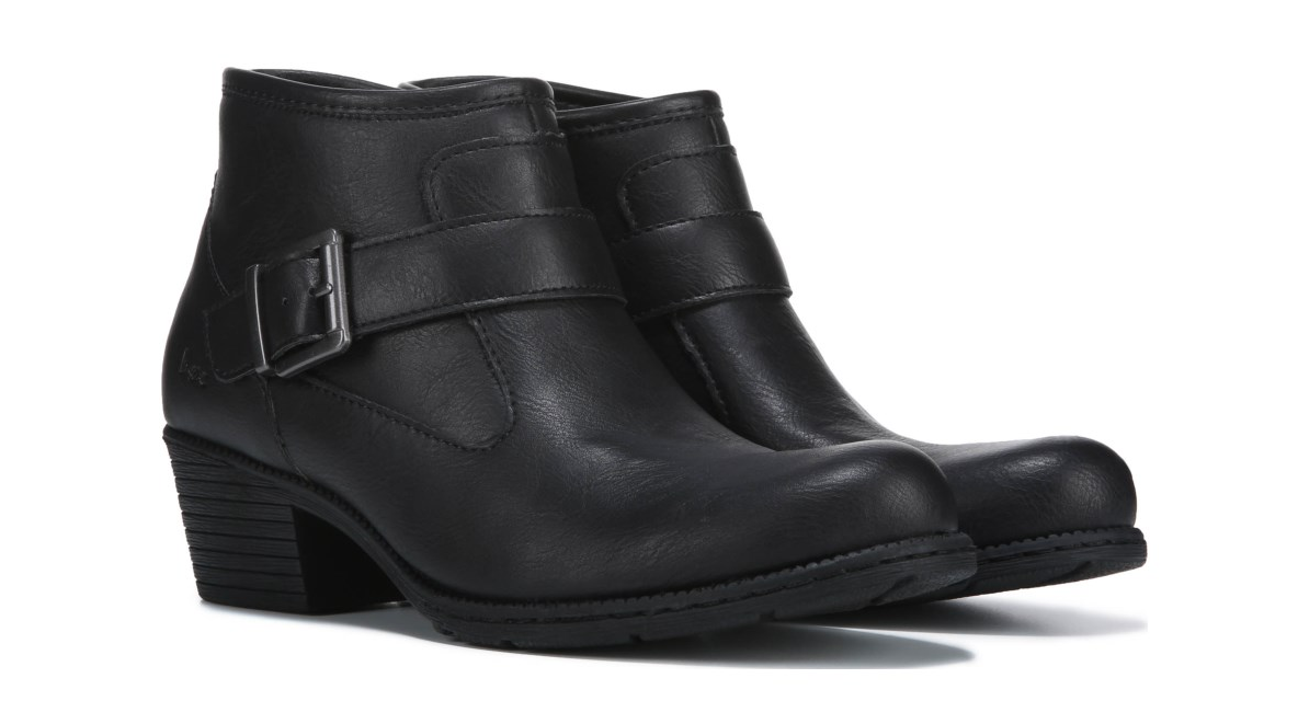 NEW BORN B.O.C. OPHELIA BLACK ANKLE BOOTS BOOTS BOOTS WOMENS 7.5 Z36009 2814b0