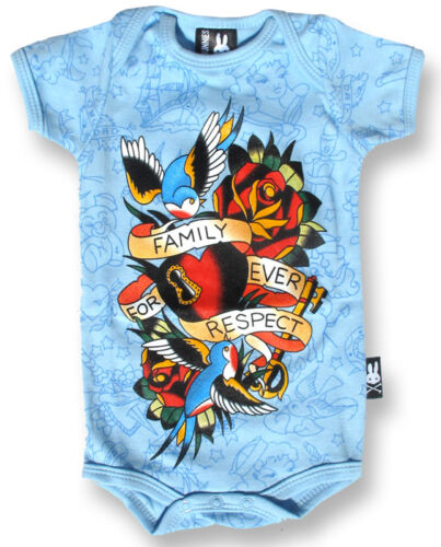 Six Bunnies Rompers//Metal//Skull//Rock//Skeleton//Punk//Funny//Cute//Unisex Baby Grows