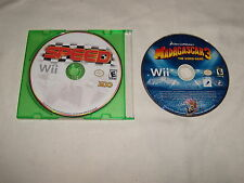 Madagascar 3 The Video Game & Speed Game both for the Nintendo Wii