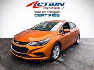 2017 Chevrolet Cruze LT,AUTO,AIR,BLUETOOTH,APPLE CARPLAY,1 PROPRIO