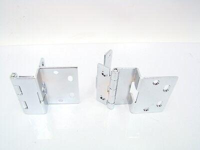 2 Swing Clear Away Knuckle Door Hinge Set 2 3 4 Quot Chrome