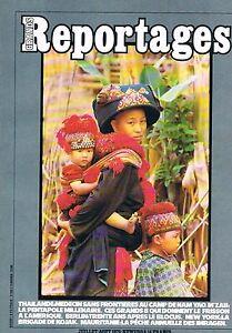 Grands Reportages - N°8 - Juil 1979 - Thailande Pentapole Grands 8 Berlin New Yo Gagner Une Grande Admiration Et On Fait Largement Confiance à La Maison Et à L'éTranger.