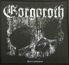 """GORGOROTH PATCH / AUFNÄHER # 4 """"QUANTOS PASSUNT AD SATANITATEM TRAHUNT"""""""