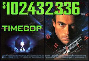 TIMECOP-Original-1995-Trade-print-AD-promo-poster-JEAN-CLAUDE-VAN-DAMME
