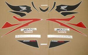 cbr 600rr 2007 complete decals stickers graphics set kit adesivi наклейки logo