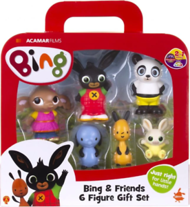 Golden Bear Bing Friends et 6 Set Figure