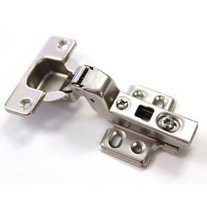HINGES SOFT CLOSE - half overlay kitchen handle door cupboard $1.49