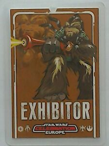 Star Wars Celebration Europe Show Pass 2007 Exhibitor Un RemèDe Souverain Indispensable Pour La Maison