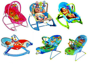 Baby-Unisex-Musical-Rocker-Bouncer-Chair-Infant-to-Toddler-Vibration