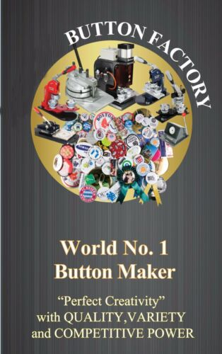 "DIY  Pro  3/"" 75mm 100sets Mirror Button Badge Supply for Button maker gift sell"