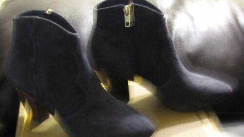 Chaussures Femmes 7 Bande Minuit Suédé Neuves Bottines Cuir Ash YOw1qFWS71