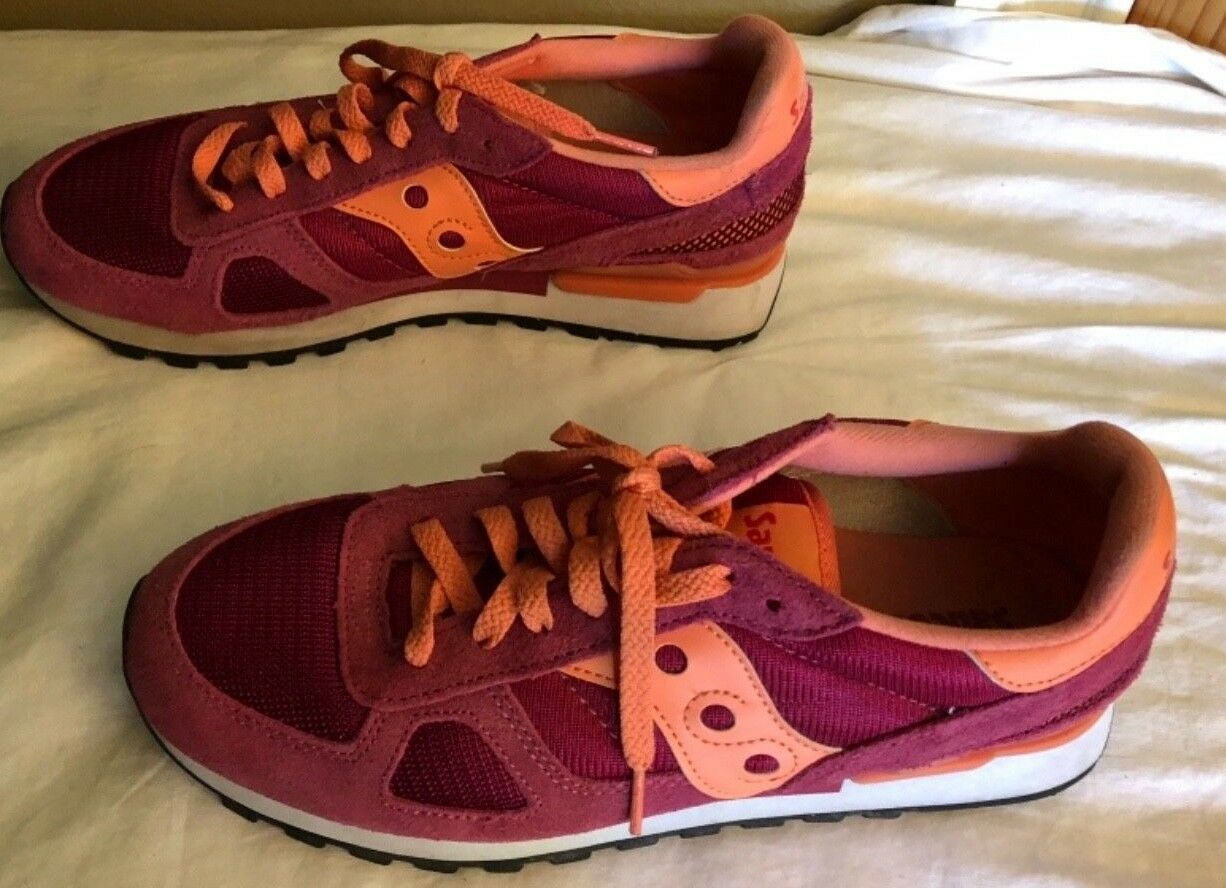 WOMENS SAUCONY S1108-634 SZ. 9.5 (PINK) TENNIS TENNIS TENNIS SHOES RUNNING TRAINING JOGGING LE 736349