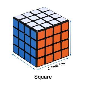 Stickerless Fastest Speed cube 3x3x3 magic twist puzzle cube 3D New