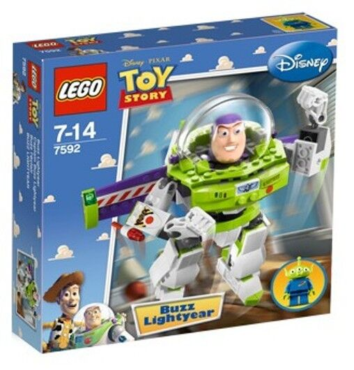 Lego 7592 Toy Story Construct-a-Buzz  Sealed Box  Buzz Lightyear Alien