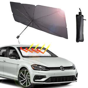 Auto Windschutzscheibe UV-Schutz Sonnenschirm Frontscheibe Abdeckung DHL