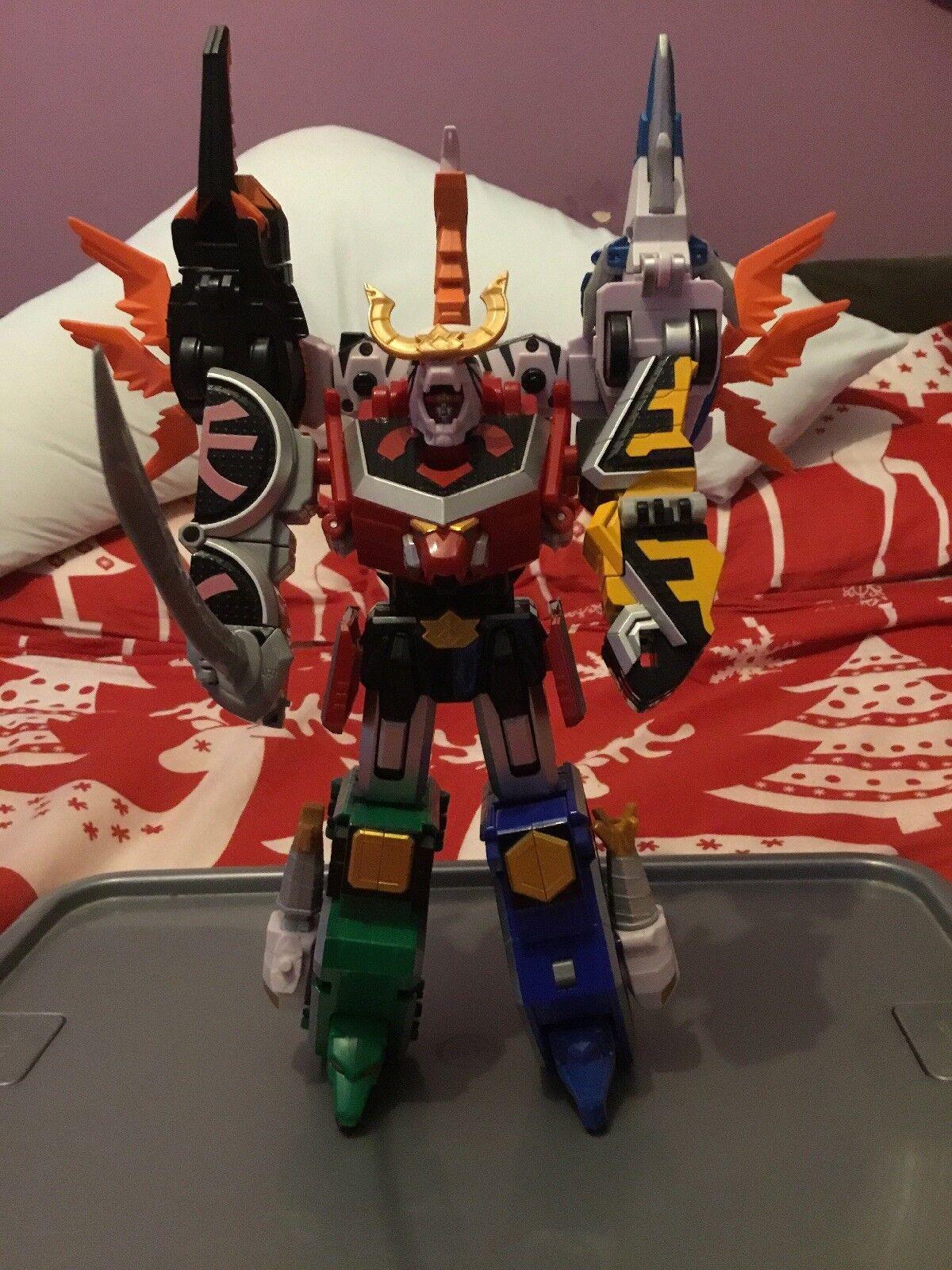 Power Rangers Samurai Deluxe battlewing Megazord + 3 Ranger Figures
