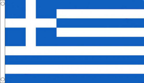 HUGE 8ft x 5ft Greece Flag Massive Giant Greek Flags