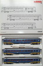 NS 3tlg Schnellzugwagen Set Inter City Plus Märklin 42643 H0 1:87 NEU OVP HI6µ