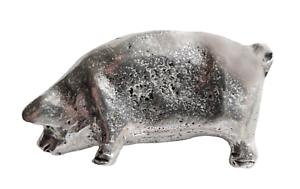 Cochon Étain Épinglette - Main Fabriqué En Cornwall Hfgerx5m-07213303-409770933