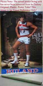 NITF-OLD-STOCK-NIKE-Basketball-Poster-Jeff-RULAND-Washington-Bullets-NBA