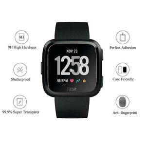 3PCS-For-Fitbit-Versa-Glass-Screen-Protector-Saver-Shield-Cover-UKJKQA