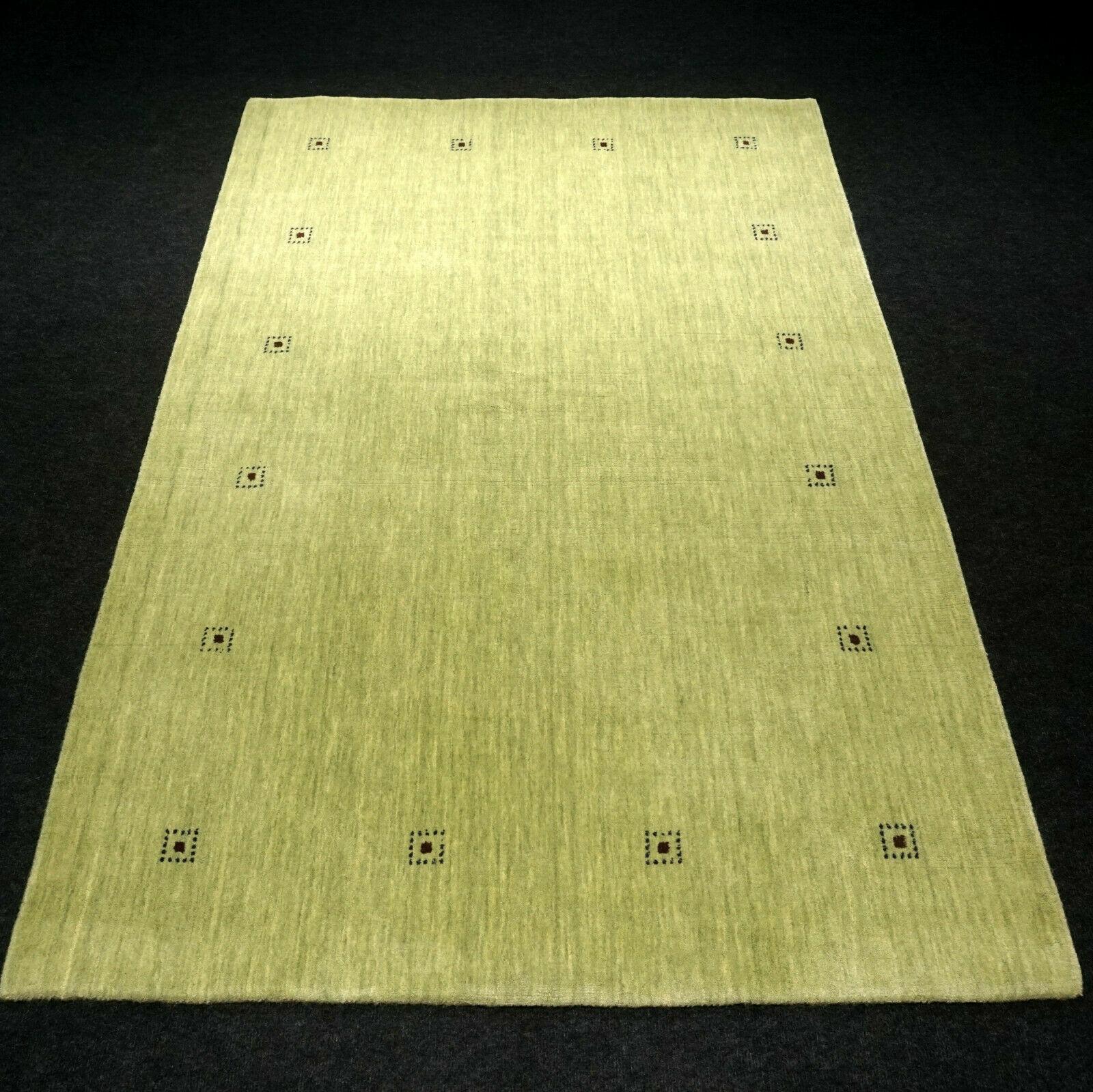 Designer Orient Orient Orient Teppich 182 x 120 cm Grün Loribaft Carpet Rug Tapijt Alfombra 9b4b4a