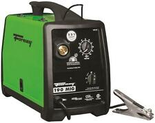 NEW FORNEY 318 230 VOLT 30 - 190 AMP HEAVY DUTY ELECTRIC MIG WELDER KIT 8909418