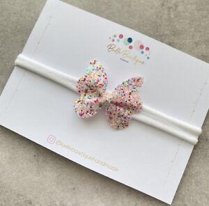 Baby Butterfly Glitter Headband