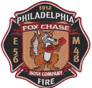 E-56 M-48 Fire Patch Philadelphia Fire Dept